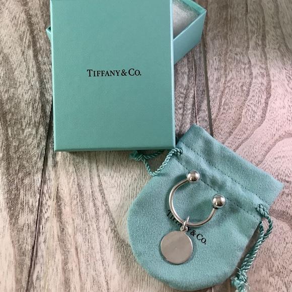 6dca208d6 Tiffany & Co. Jewelry | Tiffany Co Round Tag Key Ring | Poshmark